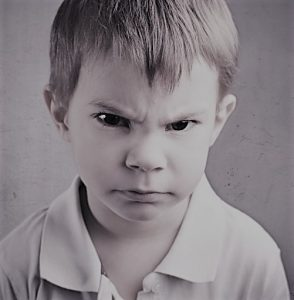 Niño enfadado Coaching TDAH